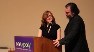 Jill and Scott Presenting