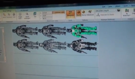 Spartan Models on the Connex500 Software