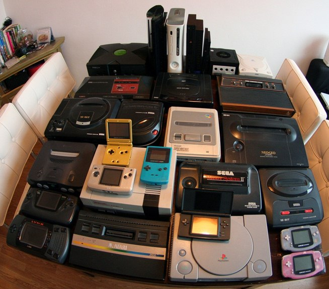 Old Consoles