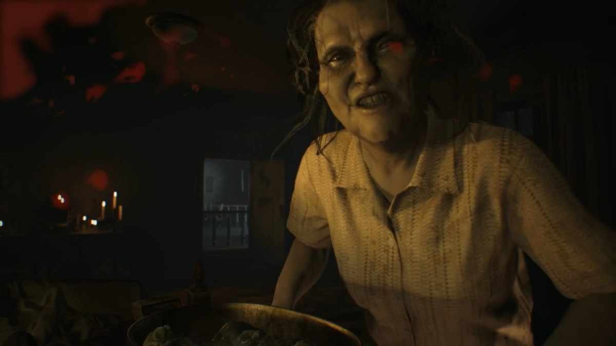 resident evil 7 marguerite normal