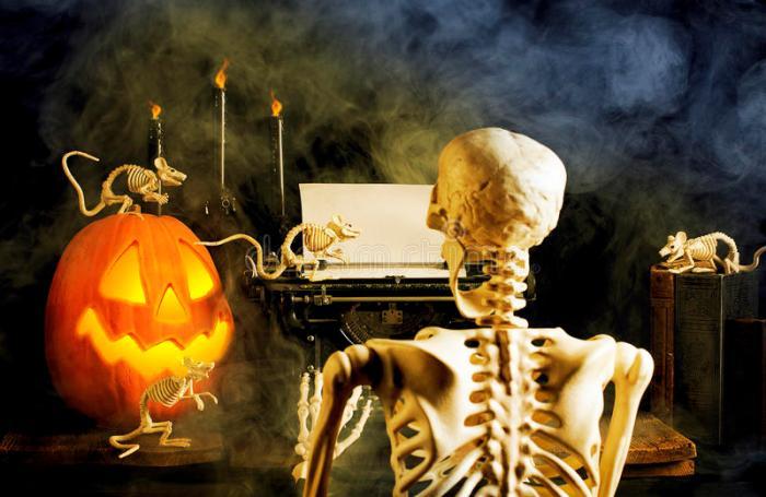 HalloweenTypewriter