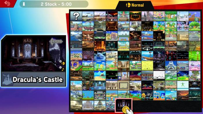 Smash Bros Ultimate Stages